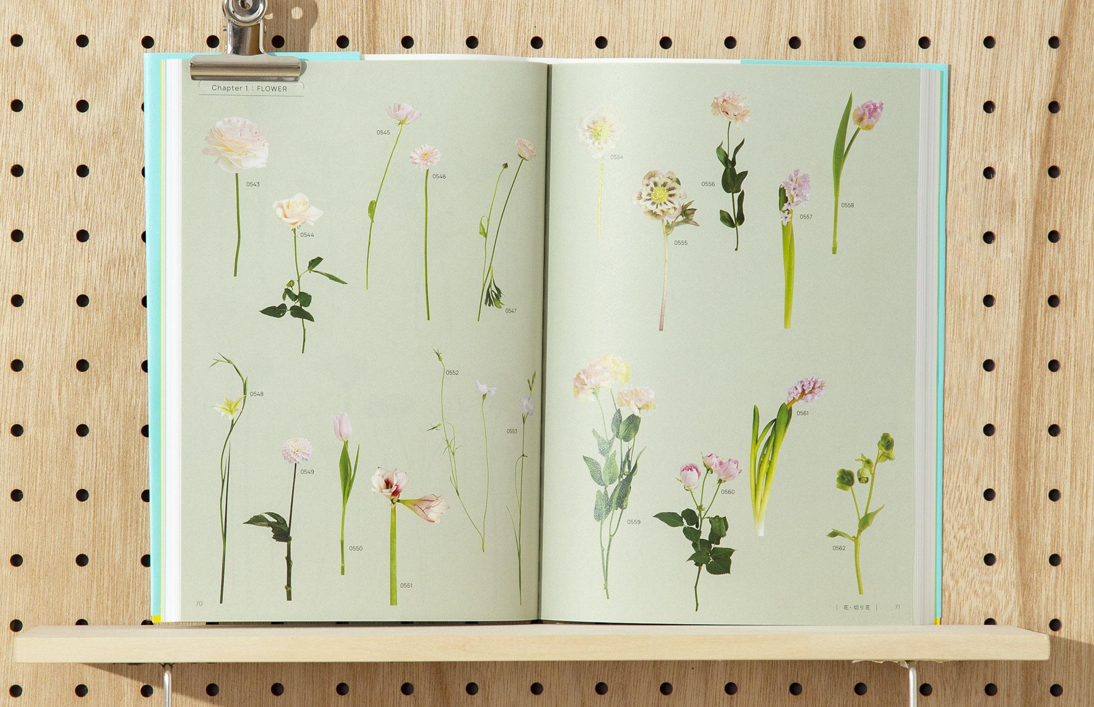 soda design FLOWER LOVERS COLLECTION 花と雑貨の素材集
