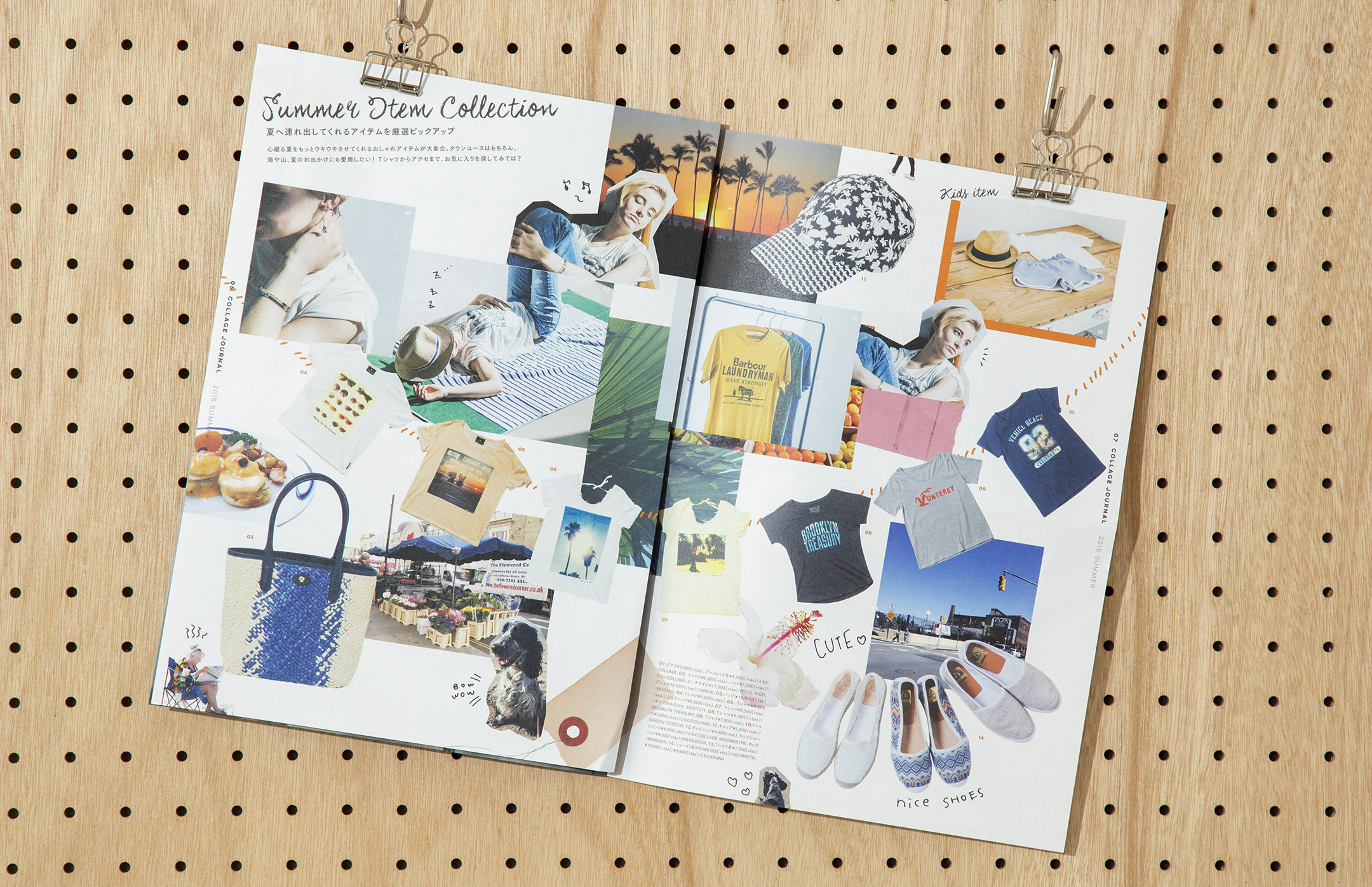 """soda design COLLAGE JOURNAL """"Have a nice trip!"""""""