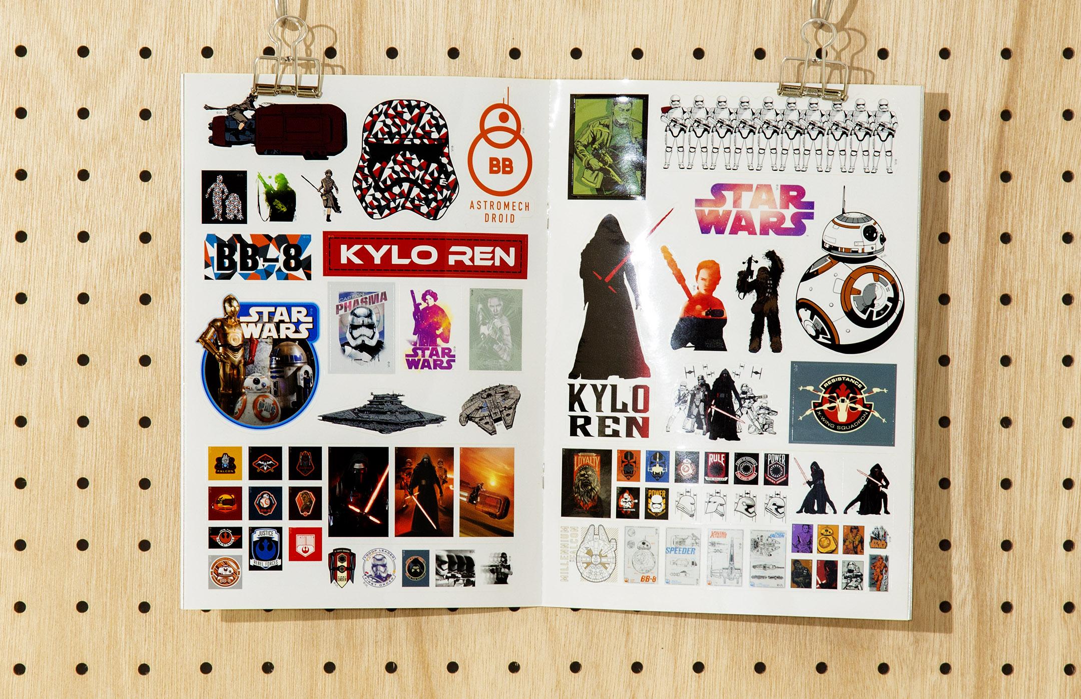 soda design STAR WARS SPECIAL STICKER BOOK